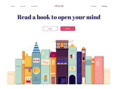Landing page - LibraryOn