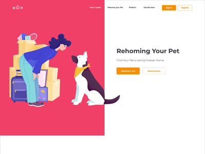 Landing page - RYP