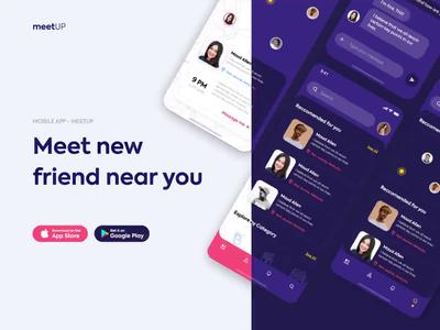 Landing Page - meetUP