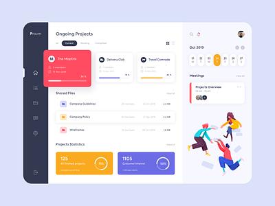 Web Platform - Praum clean website app web illustration minimal design colors ux ui