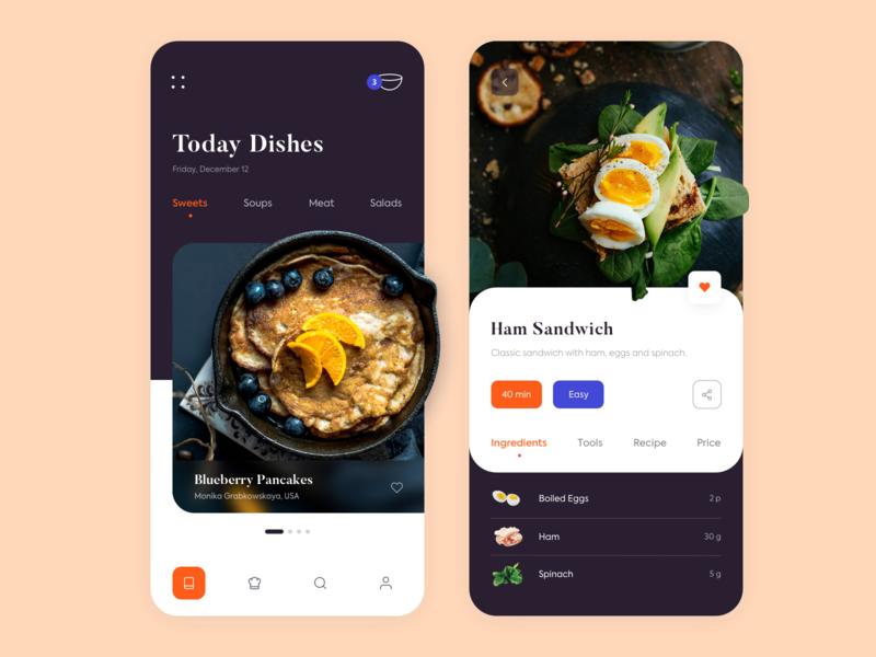 Mobile App - Kitchen Stories