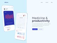 Above the fold - Med.Pro App