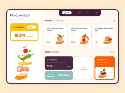 Web App - Hola Tapas