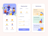 Mobile App - Mail Service