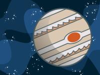 Jupiter Game Piece