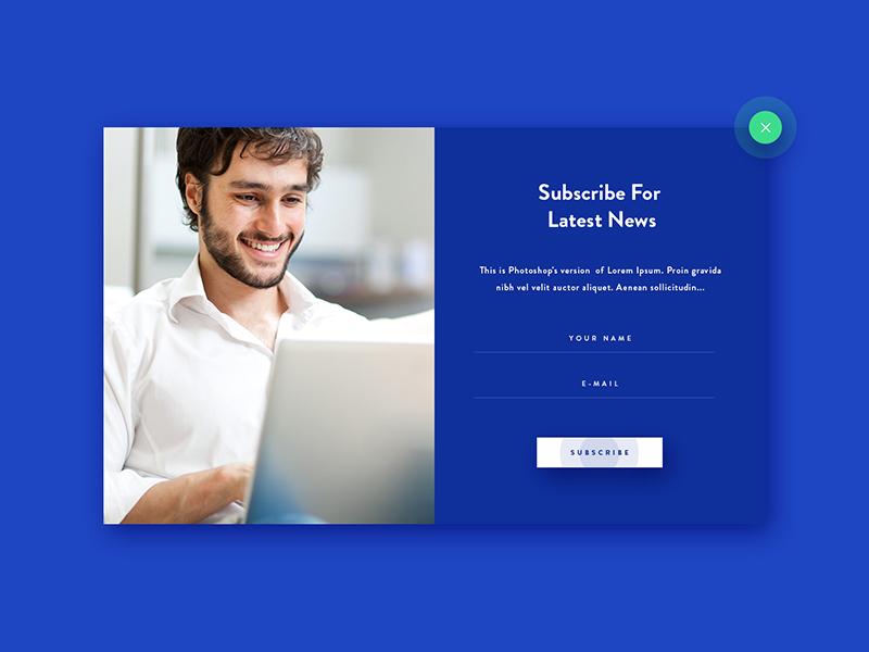 Pop Up - Design web design uiux design
