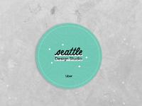 Seattle Design Studio Coaster