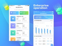 Enterprise operation platform APP
