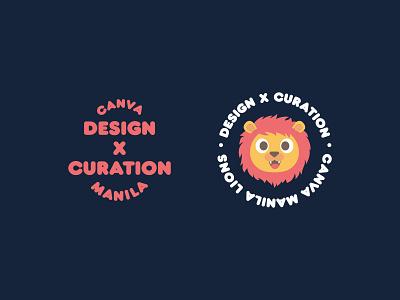 Team Swag shirt logo cute type typography head swag startup manila lion stamp badge