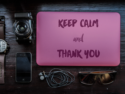 Thanks @dadan invite apple mac print poster typography visual keep calm photography thanks invitation dribbble