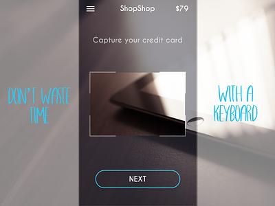 Credit card checkout - DailyUI 002 credit card interface 002 dailyui iphone minimal app mobile modern clean ux ui