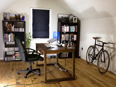 Productivity computers bikes books music