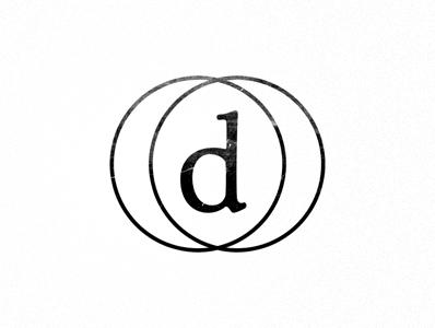 Dustin Senos - Identity identity black white d logo type