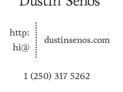 Business Card Bottom business card card personal branding branding black white
