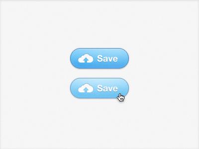 Cloud Button Redux button cloud blue