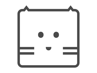 Wallcat icon mac app side project brand icon