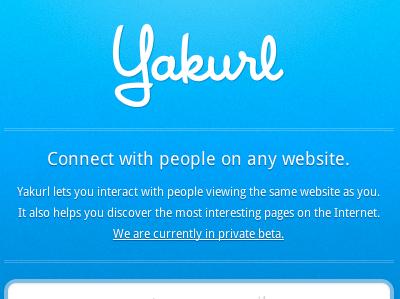 Yakurl - Reserve Username blue web design house industries