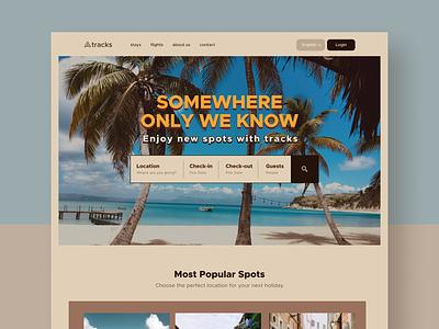 Booking Website hotel challenge figma homepage landing uidesign booking minimal website ui design