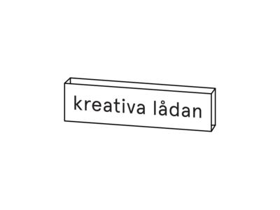 Kreativa lådan abstract interior design blog minimalistic logo