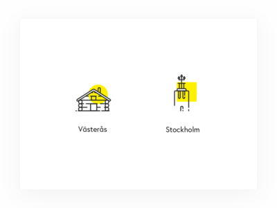 Pingdom office locations sweden västerås stockholm icon two color line icons pingdom