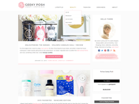 Geeky Posh WordPress theme