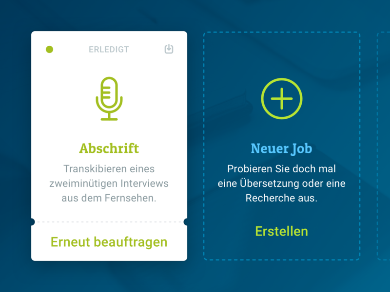 My Little Job icons ux  ui ux card