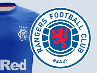 Rangers Football Club 2020 - Redesign redesign orange blue graphic identity brand design 32red castore football glasgow scotland rangers logo sports logo sport brand