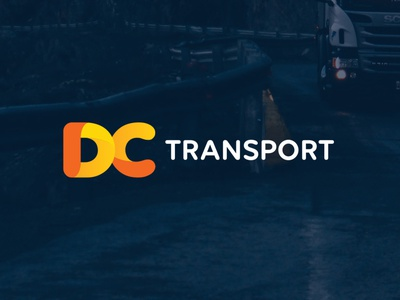 DC Transport Branding vector branding illustration brand logo