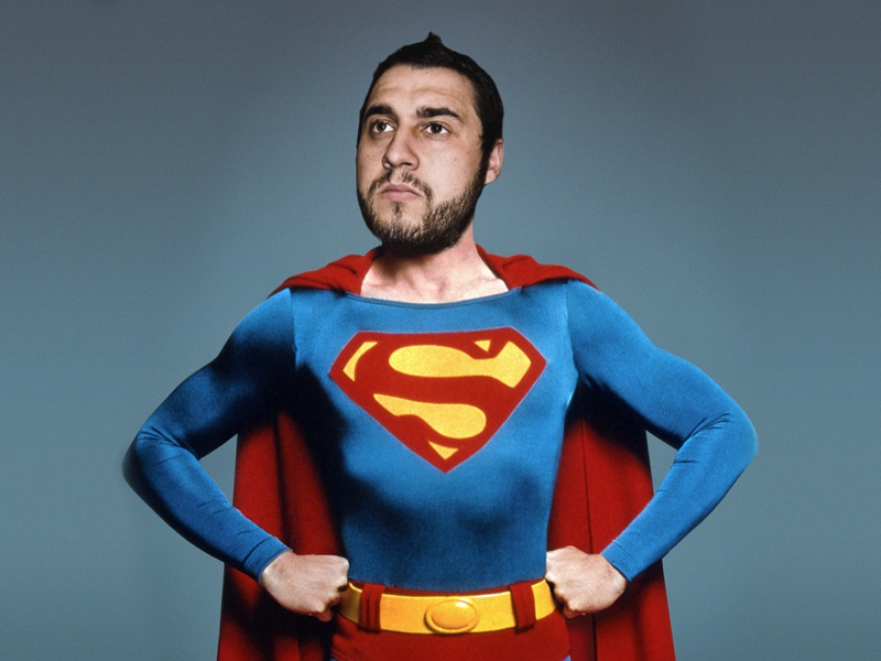 Superme selfie photoshop superman