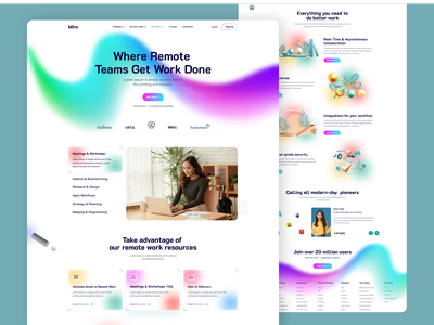 Agency Landing page creative landing page agency design web site web design user experience user interface website template landing page agency