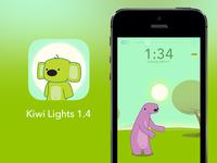 Kiwi Flashlight/Nightlight App