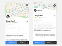 Full-time App Job Detail View