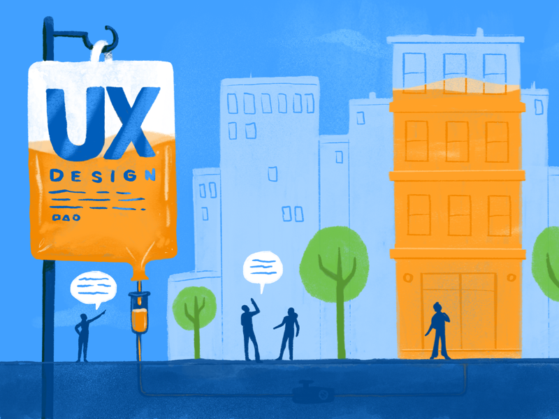 UX Infused Businesses sketch sketch app childrens book thinking communication business enterprise city pipes clouds people illustration medical iv buildings lifeline design ux canvas workday