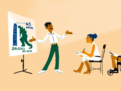Present Using Children's Book Storytelling Techniques product design presentations user experience storytelling ux childrens book illustration