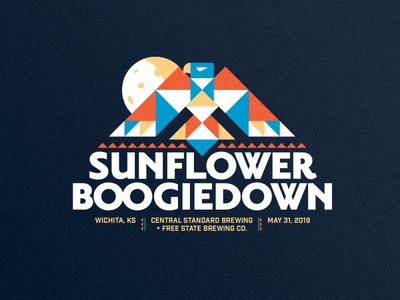 Sunflower Boogiedown Outtake craft beer event moon bird beer brewery