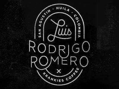 Luis Rodrigo Romero Stamp
