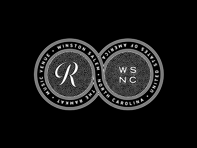 The Ramkat ramkat branding logo seal crest design badge