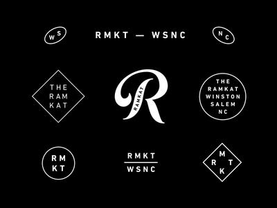 The Ramkat Secondary Assets ramkat design logo branding