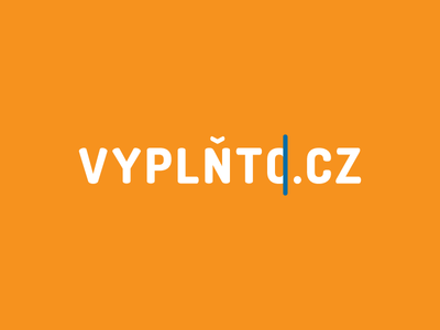 Vyplňto.cz Redesign Proposal minimalist minimal simple typography questionnaires fill form redesign logotype logo vyplnto