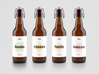 Presek Brewery: Bottle Labels