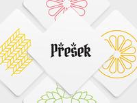 Presek Brewery: Logotype & Coasters