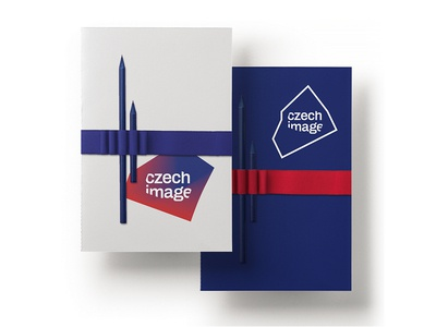 Czech Image white red blue logotype logo variable flag visual identity centres image czech