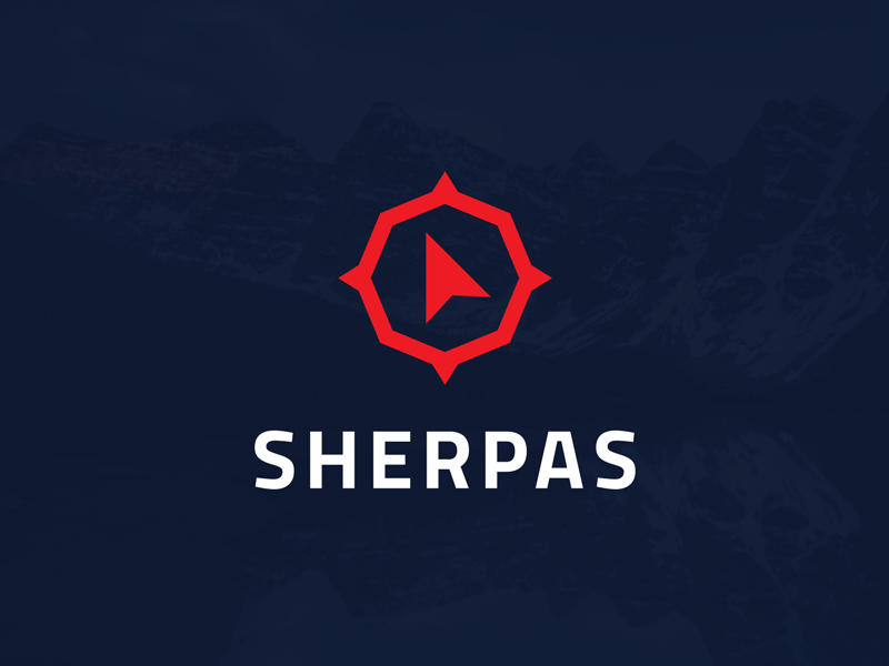 Dobrý web ➤ Sherpas Redesign direction right compass agency proposal redesign sherpas web dobry