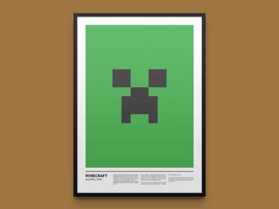 Minecraft minimal print
