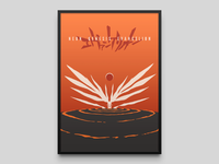 NEON GENESIS EVANGELION minimal print