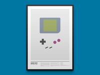 GAME BOY minimal print