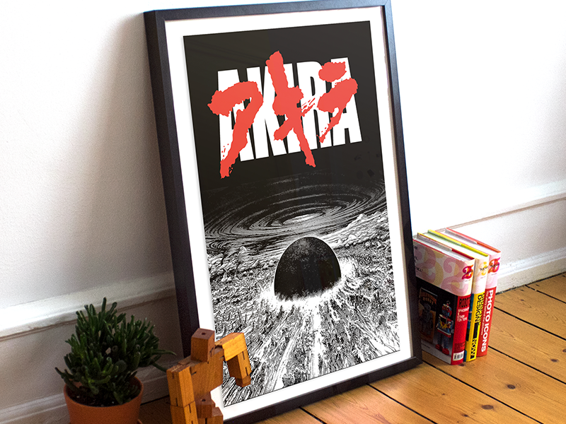 Akira Neo Tokyo Is About To Explode By Gershom Charig On Dribbble