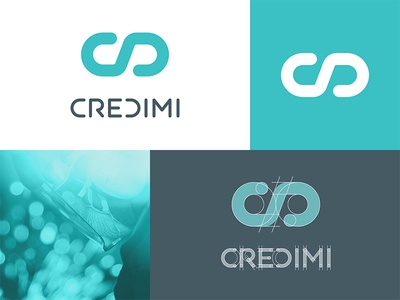 Brand new logo for Credimi fintech loan economy branding brand money invoice finance logotype logo credimi instapartners