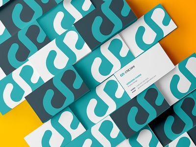 Credimi – Business Card fintech stationery credimi logo logotype finance invoice money brand branding card business
