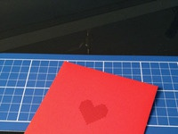 Valentine popup card big3